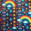 Bio-Jersey Regenbogen