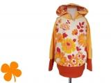 Hoodie Bio-Nicki Blüten