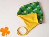 Wendemütze Klee grün