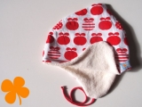 Wendemütze Bio-Apfel, Bio-Teddy