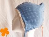 Wintermütze Blaubeere, Bio-Teddy