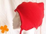 Wintermütze Rotkäppchen, Bio-Teddy