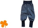 Pumphose Jeans Fischgrat
