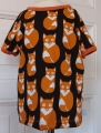 T-Shirt Bio-Fuchs orange