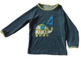 Geburtstagsshirt Frotte grau, Elefant