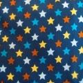 Bio-Jersey Sterne bunt