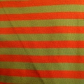 Jersey Streifen orange-grün