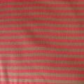 Bio-Interlock Streifen rot-braun