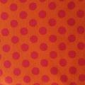 Jersey Punkte orange groß