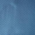 Jersey Punkte jeansblau