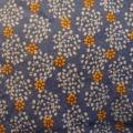 Blumen blau-orange