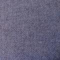 Wollmischgewebe Fischgrat jeansblau